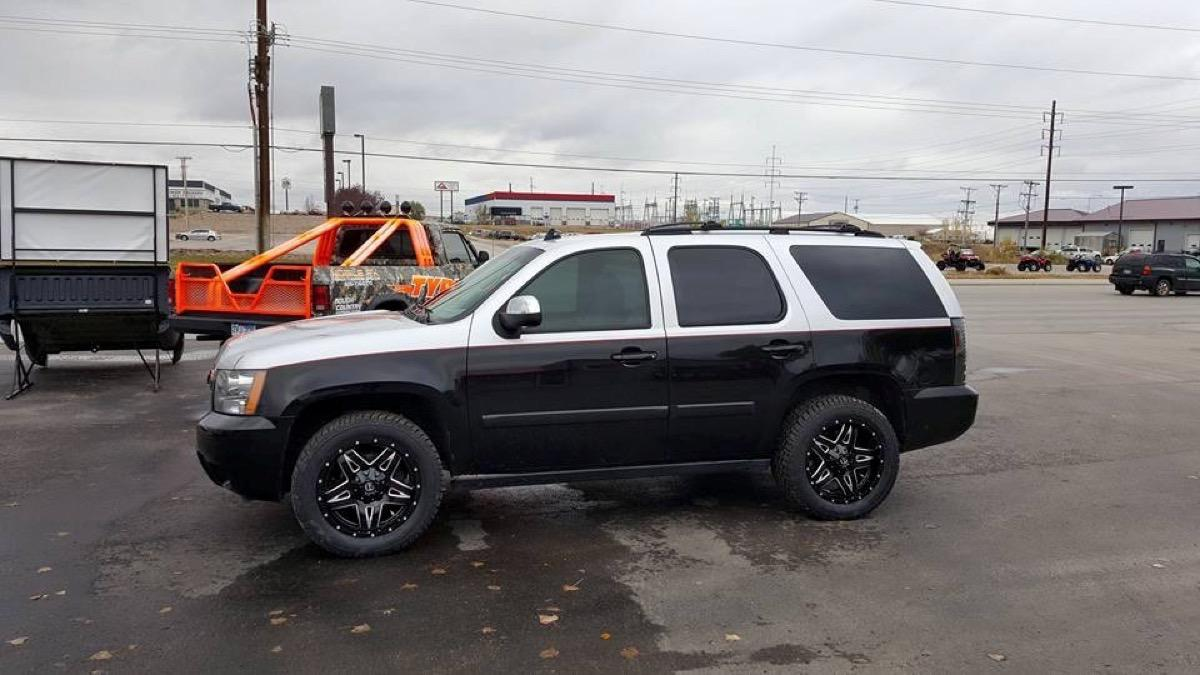 Chevrolet Tahoe Custom Tires and Wheels - Rapid City, SD