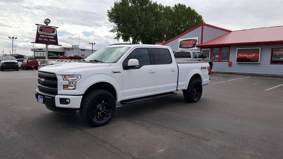 Ford f150 custom tires and rims rapid city sd